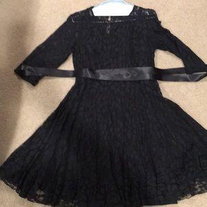 MSK Black Lace Dress